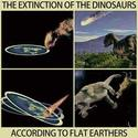 dinosaurs-extinction-according-to-flat-earthers