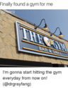 the right gym for me