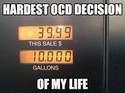 the hardest ocd decision