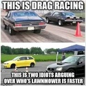 this is drag racing