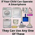 if your child can operate a smartphone
