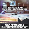 internet vs real world