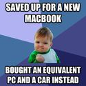 saved for a new macbook