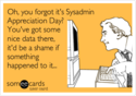 sysadmin day meme
