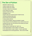 the zen of python