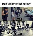 dont blame technology