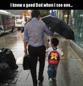 good dad yes but clever-no