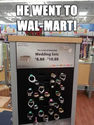 wallmart wedding set