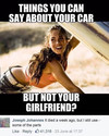 car vs girlfriend