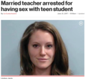 maried techer bangs a student
