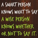smart and wise persons