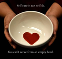 you cant serve from empty bowl