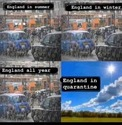 england in quarantine