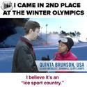 2nd place winter olympics