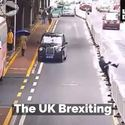 the UK brexiting