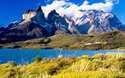 Patagonia-Cuernos del Paine from Lake Pehoe
