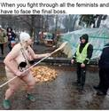 the feminists boss