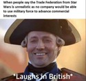 british indies and the trade federation