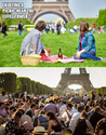 picnic near the eiffel tower