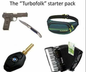 the turbofolk starter pack